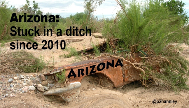 Arizona Stuck in a Ditch