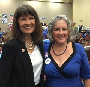 Victoria Steele and Pamela Powers Hannley