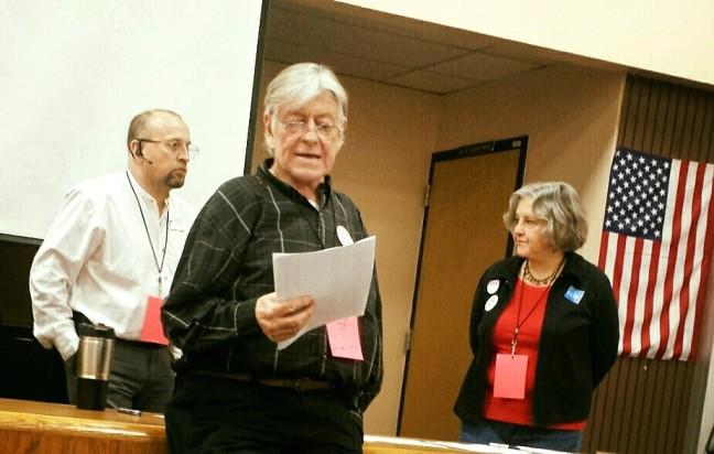 Scott Prior and Pamela Powers Hannley