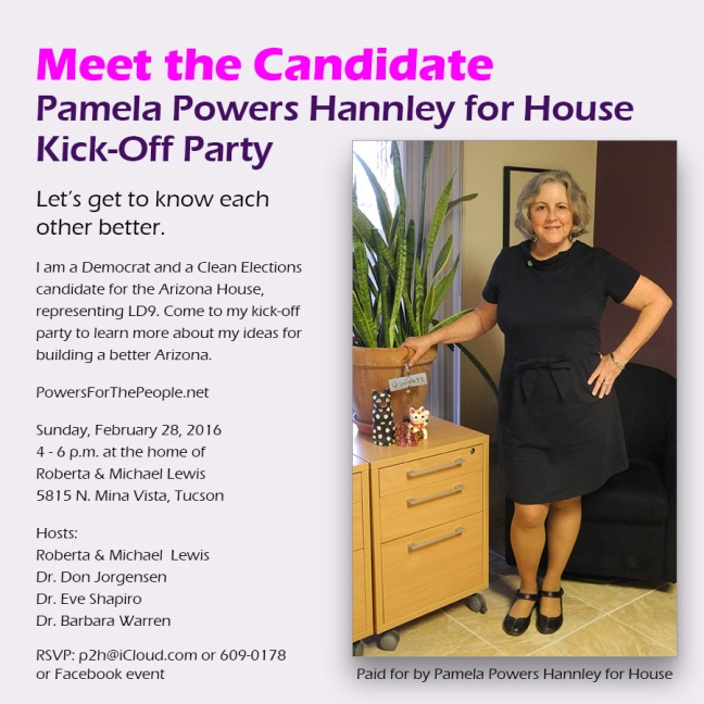 Pamela Powers Hannley for House