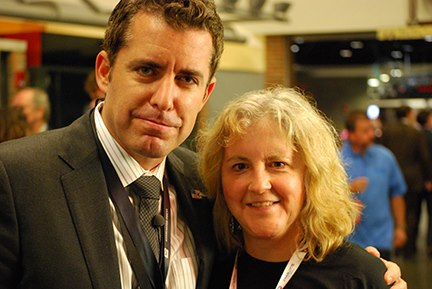 Jason Jones and Pamela Powers Hannley