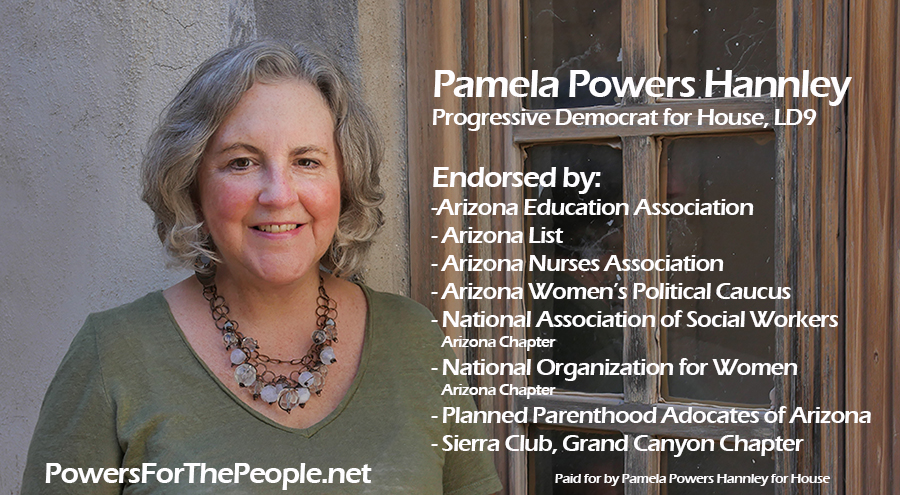 Pamela Powers Hannley endorsements