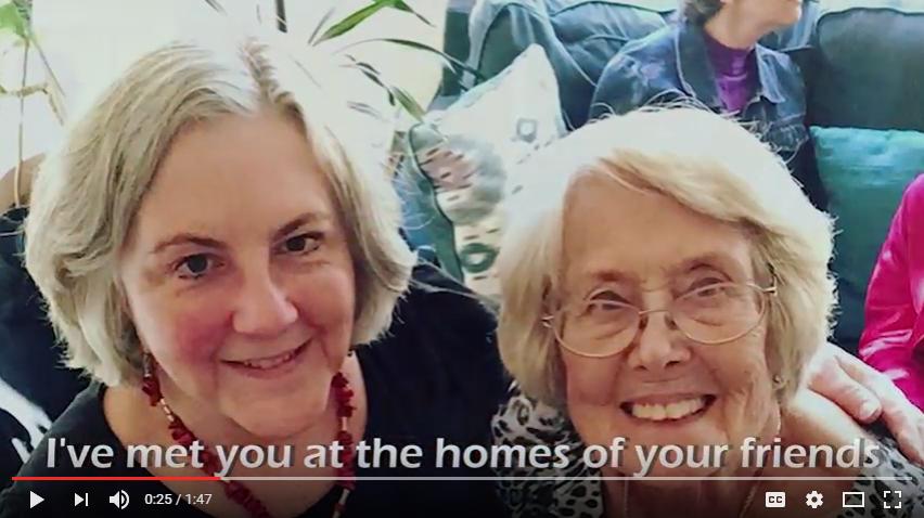 Pamela Powers Hannley & Barbara Cain