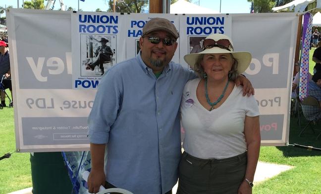 Fred Yamashita and Pamela Powers Hannley