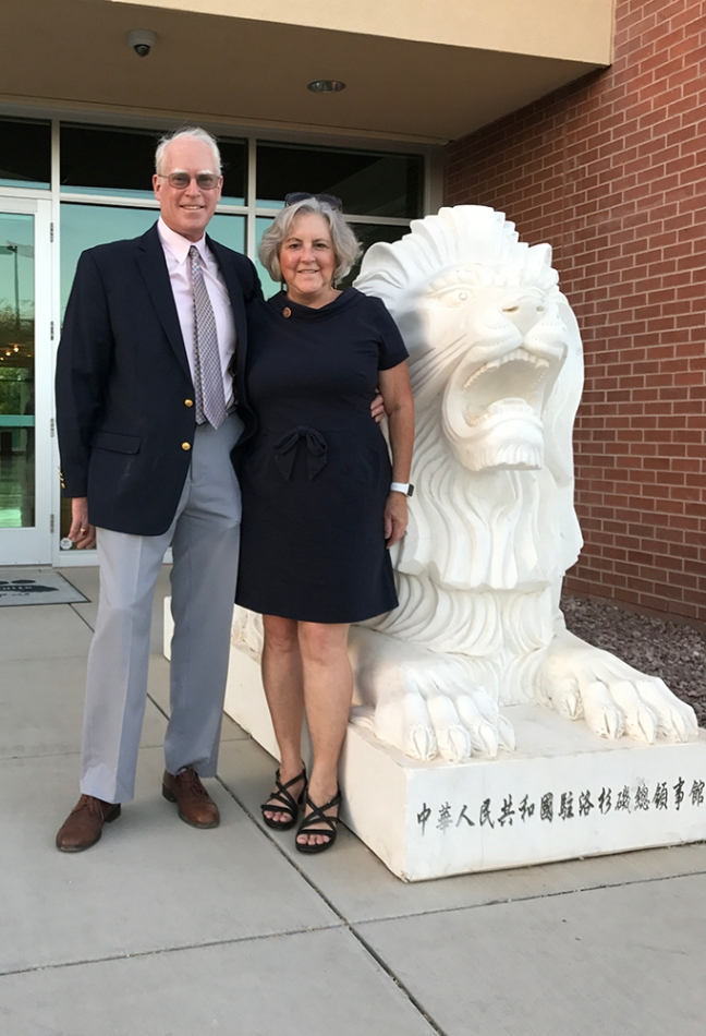 Jim Hannley and Rep. Pamela Powers Hannley