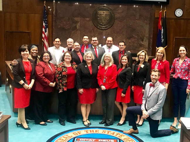 #RedForEd in Arizona House
