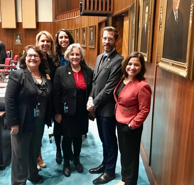 "There have been many lively debates in the Arizona House in 2018. This team of House Democrats fought for consumer protections and fought against risky financial deals in a ""regulatory sandbox."" (Pictured are Reps. Mitzi Epstein, Kelli Butler, Athena Salman, Pamela Powers Hannley, Ken Clark and Isela Blanc.)"