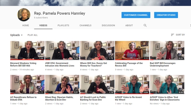 Rep. Pamela Powers Hannley on You Tube