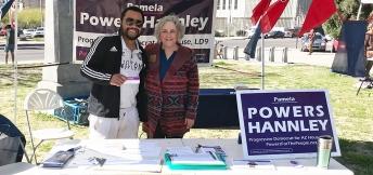 Antar Davidson and Pamela Powers Hannley