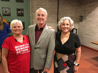 Pat Maisch, Dr. Randy Friese and Rep. Pamela Powers Hannley