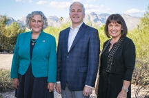 LD 9 Reps. Dr. Randy Friese and Pamela Powers Hannley and Victoria Steele (State Senate candidate).