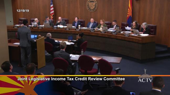 Arizona Legislature tax review committee