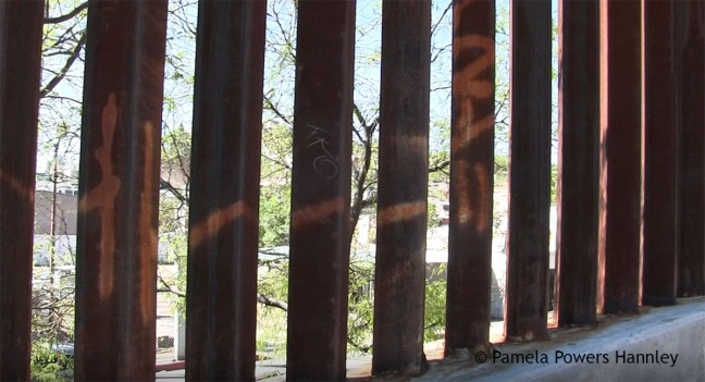 Border Wall in Nogales