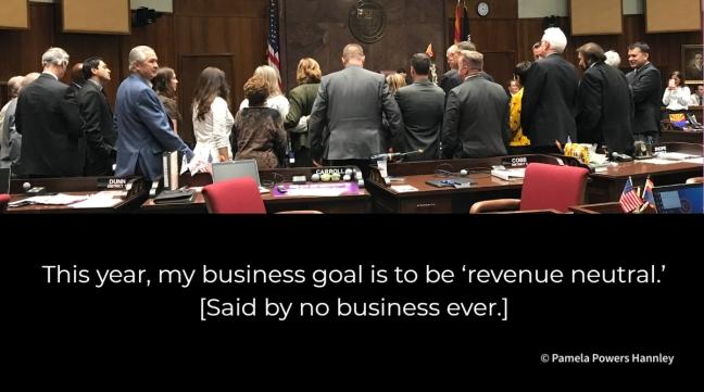 revenue neutral