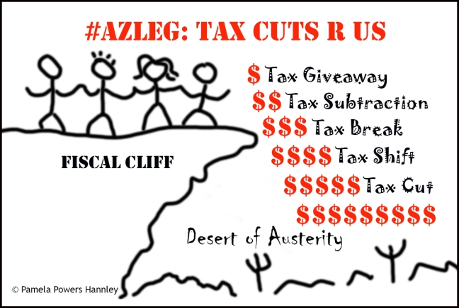 Arizona's fiscal cliff