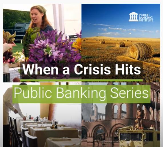 Public Banking Institute video