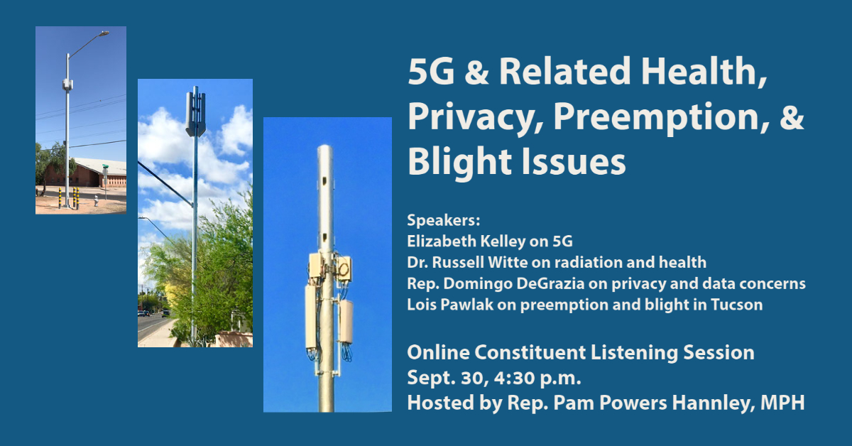 forum on 5g on sept 30 health privacy preemption blight video powers for the people forum on 5g on sept 30 health privacy