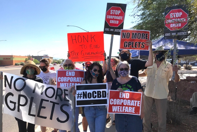 Labor Day Protest in Tucson