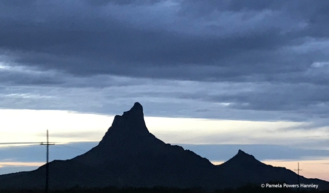 Picacho Peak, rural Arizona