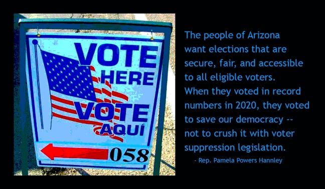 voter suppression in Arizona