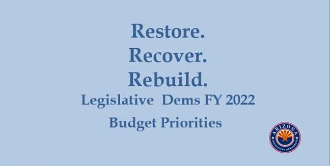 Arizona Democratic Budget