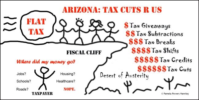 Flat tax is bad for Arizona